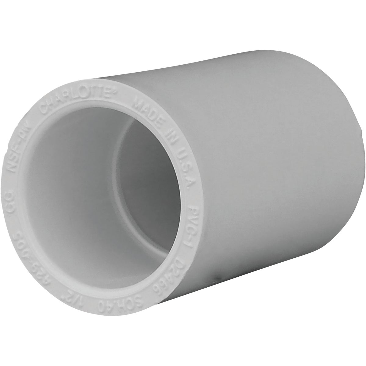 "1/2"" SCH40 PVC COUPLING - 30105 by Genova Inc"
