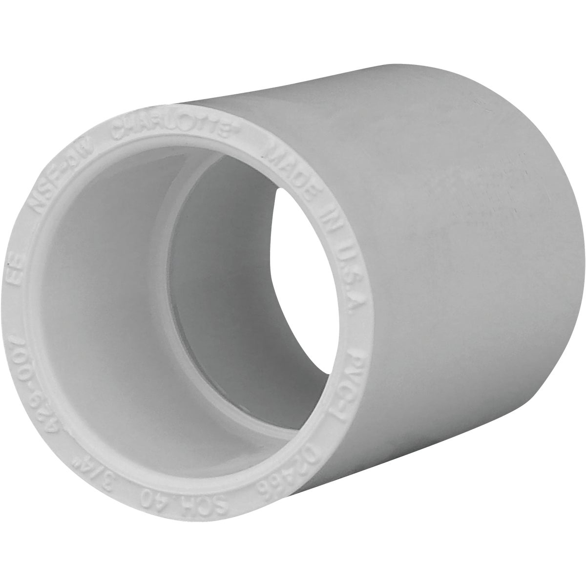 "3/4"" SCH40 PVC COUPLING - 30107 by Genova Inc"