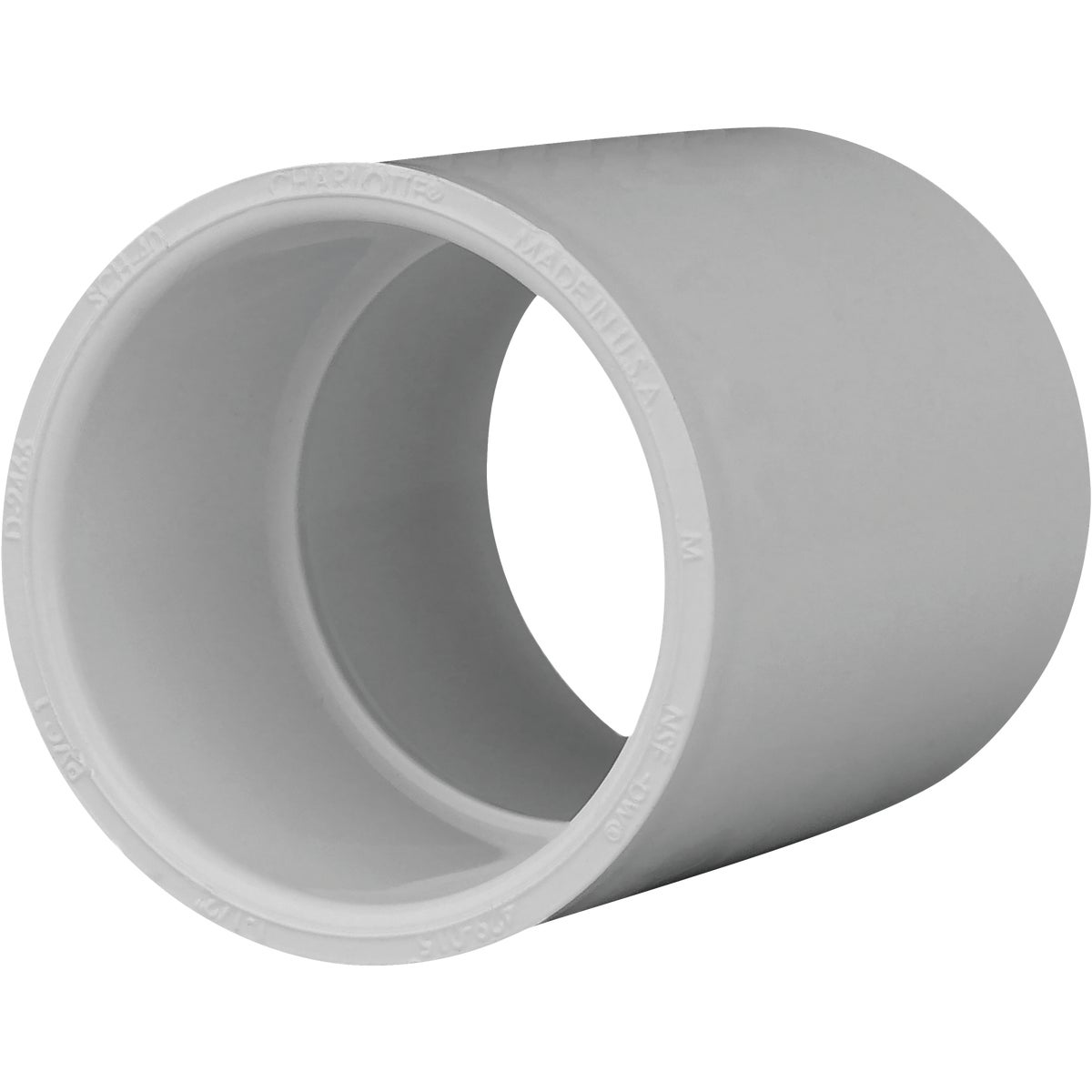 "1-1/2"" SCH40 PVC CPLG - 30115 by Genova Inc"