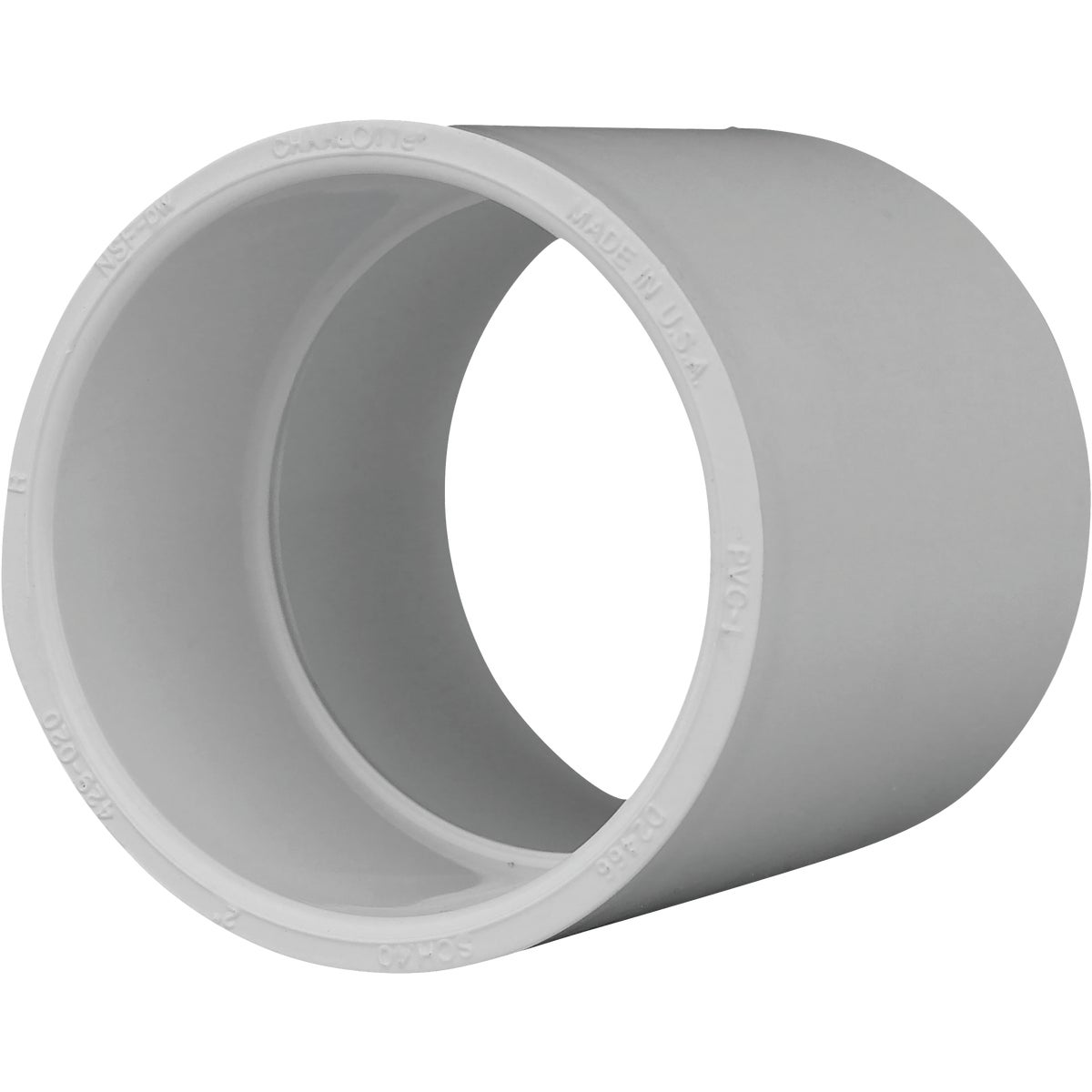 "2"" SCH40 PVC COUPLING - 30120 by Genova Inc"