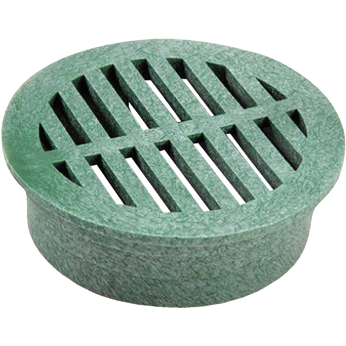"3"" GREEN ROUND GRATE - 16 by National Diversified"