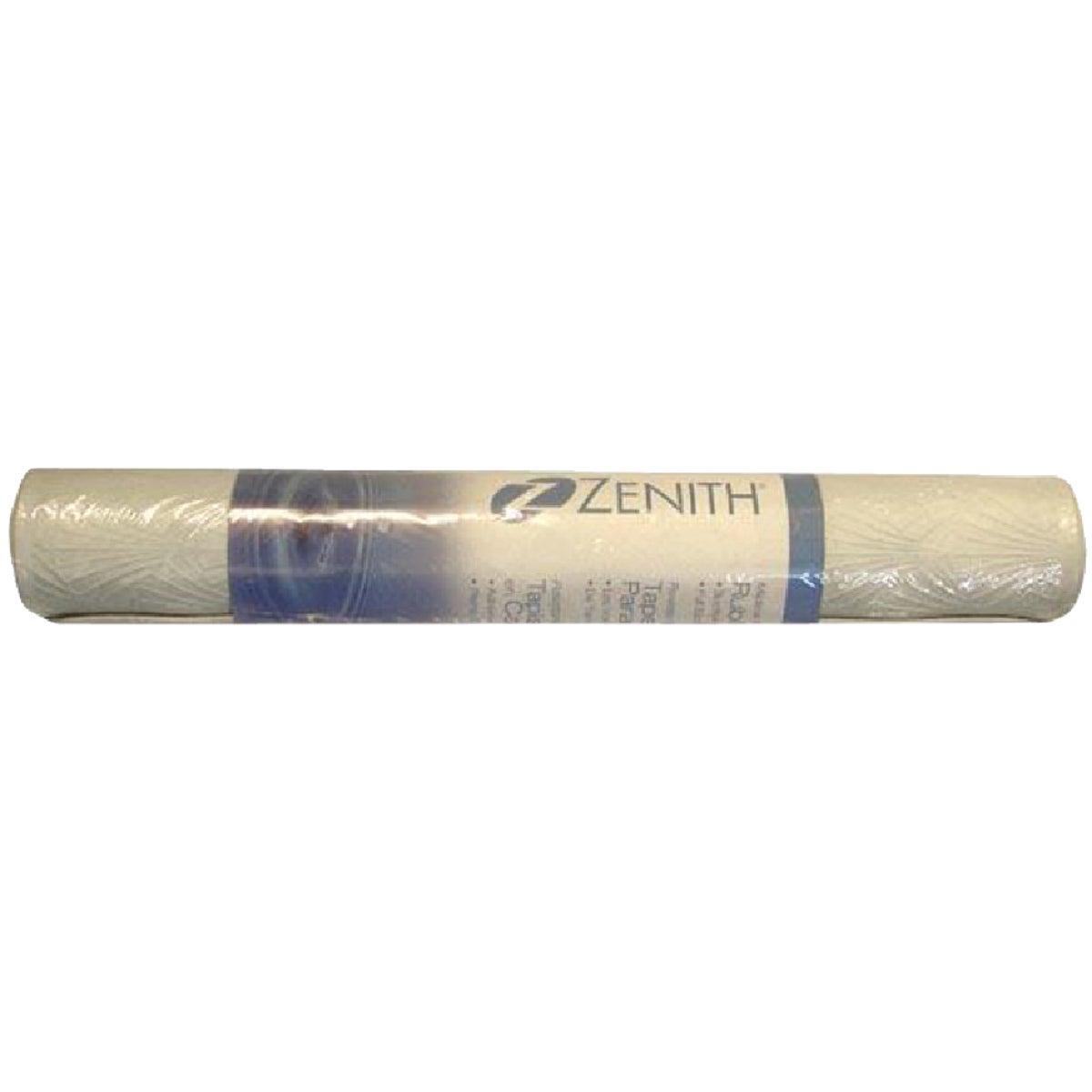 Zenith Prod. WHITE RUBBER BATH MAT 77WW