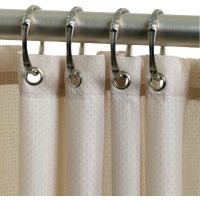 Zenith Prod. TAUPE SHOWER CURTAIN H20BB