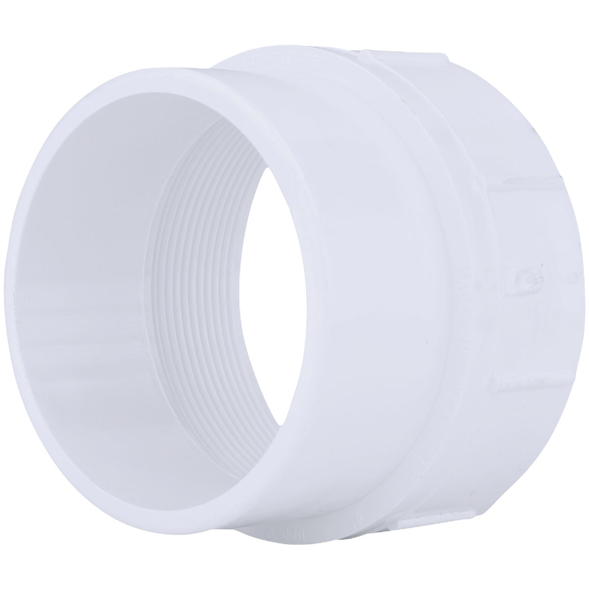 "4"" DWV CLEANOUT FITTING - 71639 by Genova Inc  Pvc Dwv"