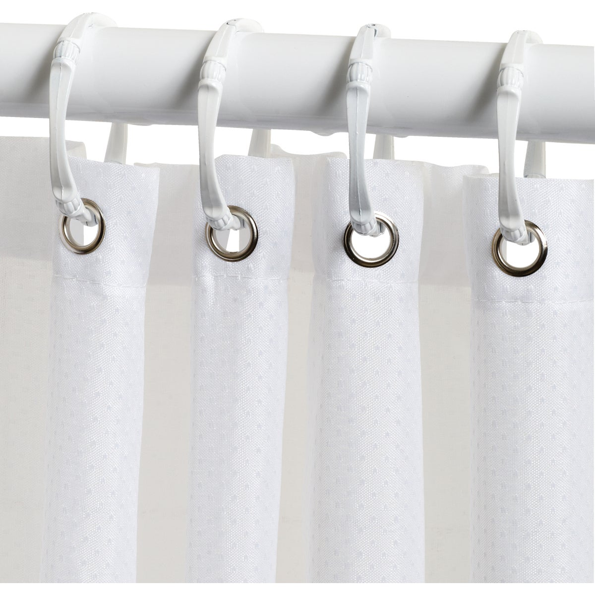 WHITE SHOWER CURTAIN - H20WW by Zenith Prod Corp