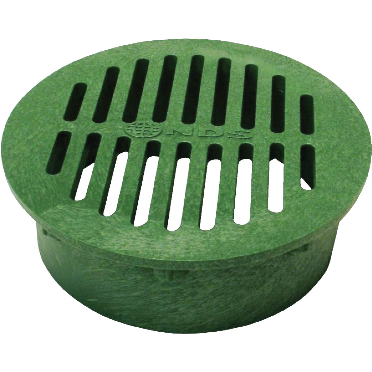 "8"" GREEN ROUND GRATE - 20 by National Diversified"