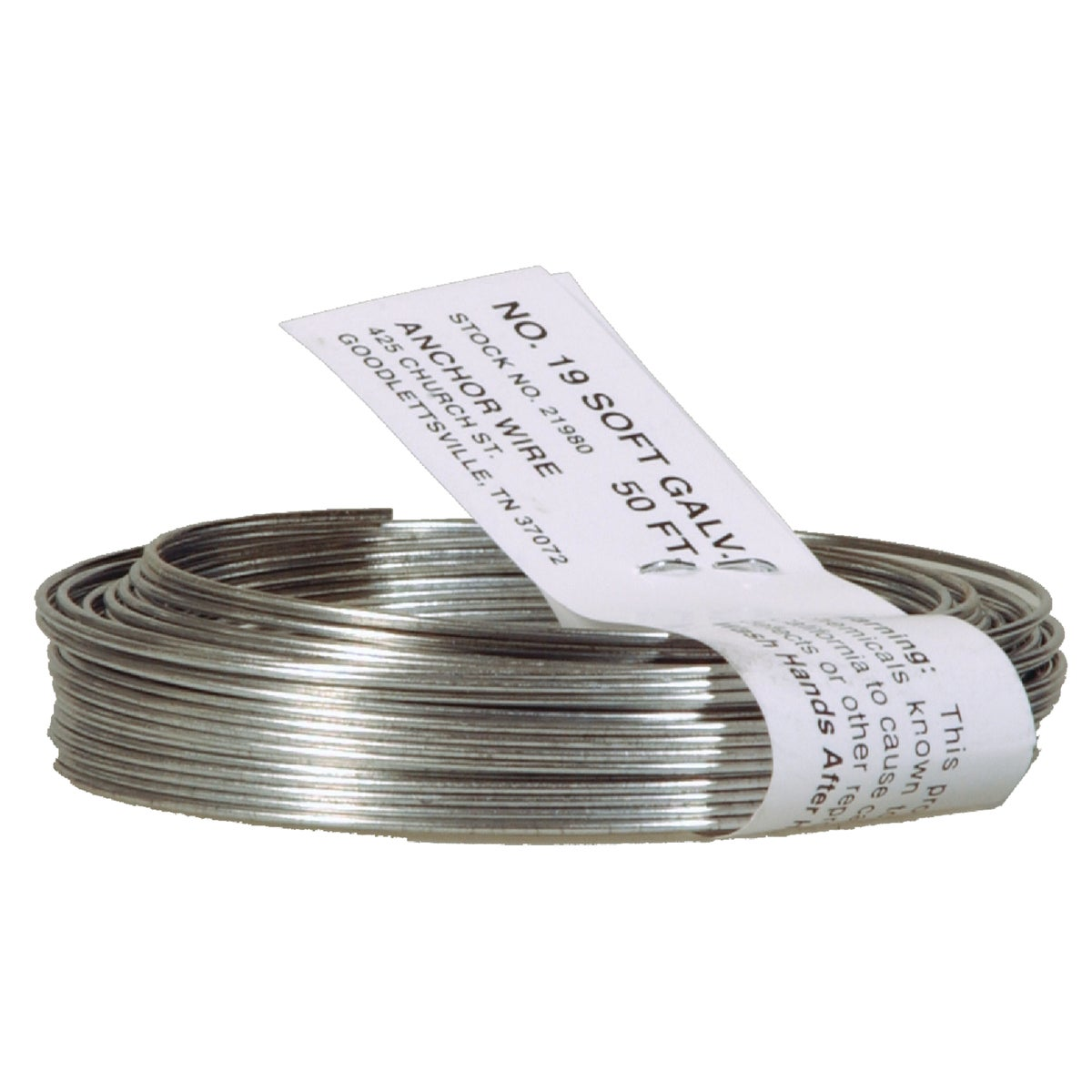 50' 20G BLACK WIRE - 123182 by Hillman Fastener