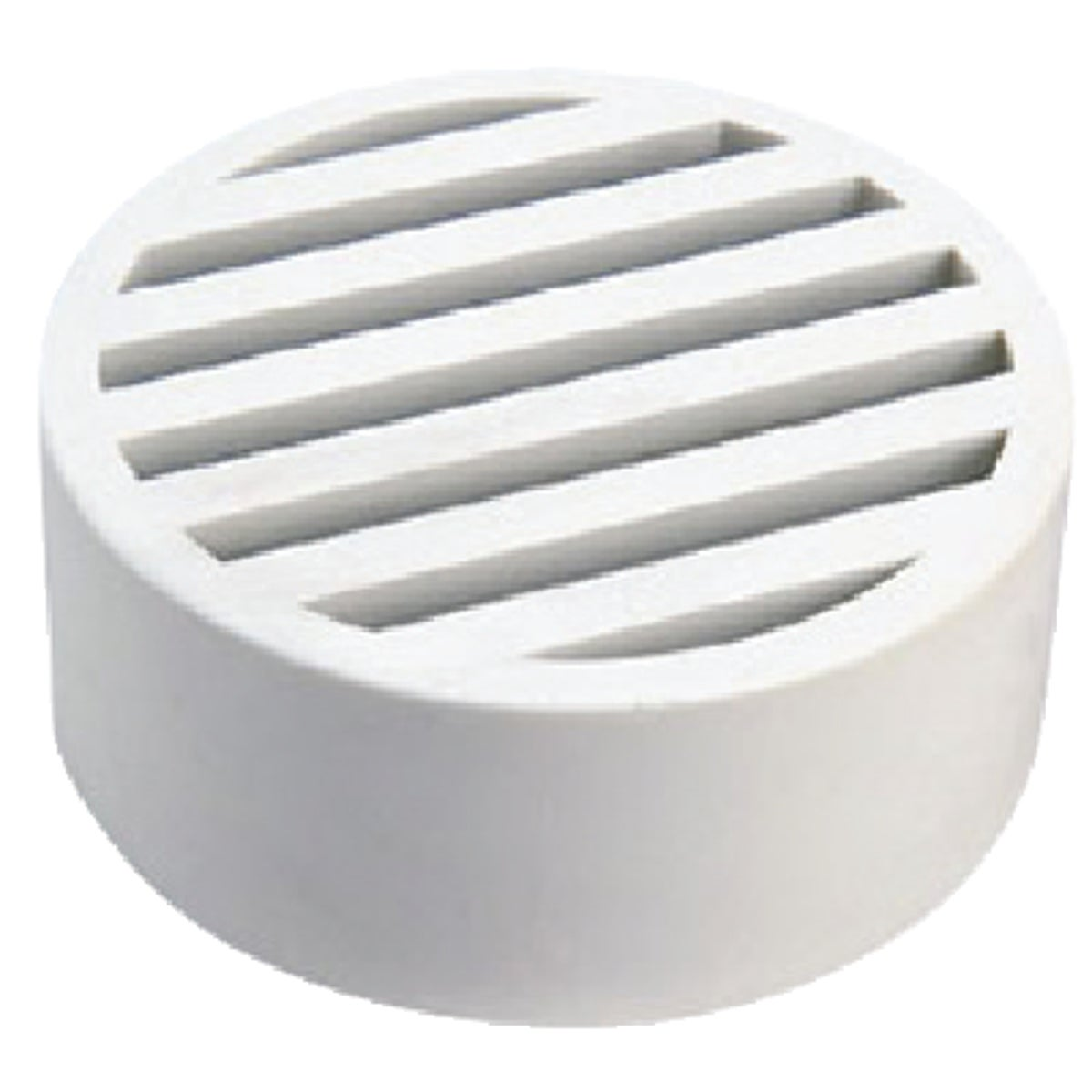 "3""WHT STYRENE DECK DRAIN - WC100 by National Diversified"