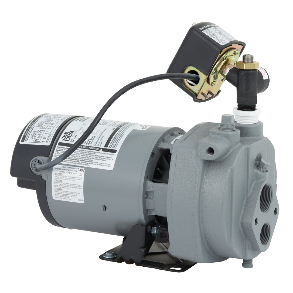 3/4HP CONV JET WELL PUMP - JHU07 by Star Water Systems