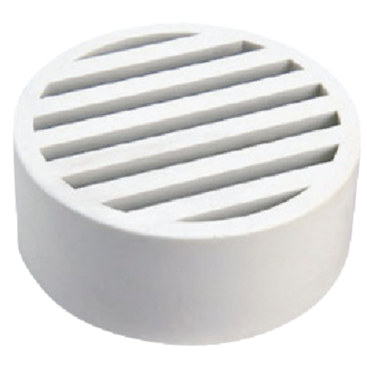 "3""GRAY STYREN DECK DRAIN - WC100G by National Diversified"