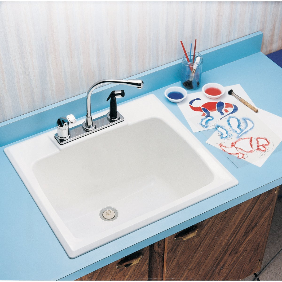 DROP-IN LAUNDRY TUB - 10 by E L Mustee
