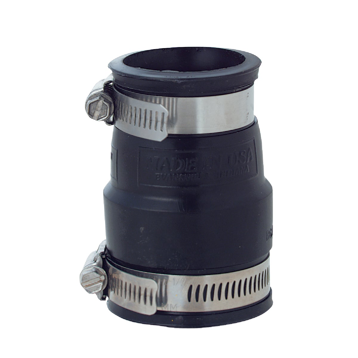 1-1/2X1-1/4FLEX COUPLING - P1056-150/125 by Fernco Inc