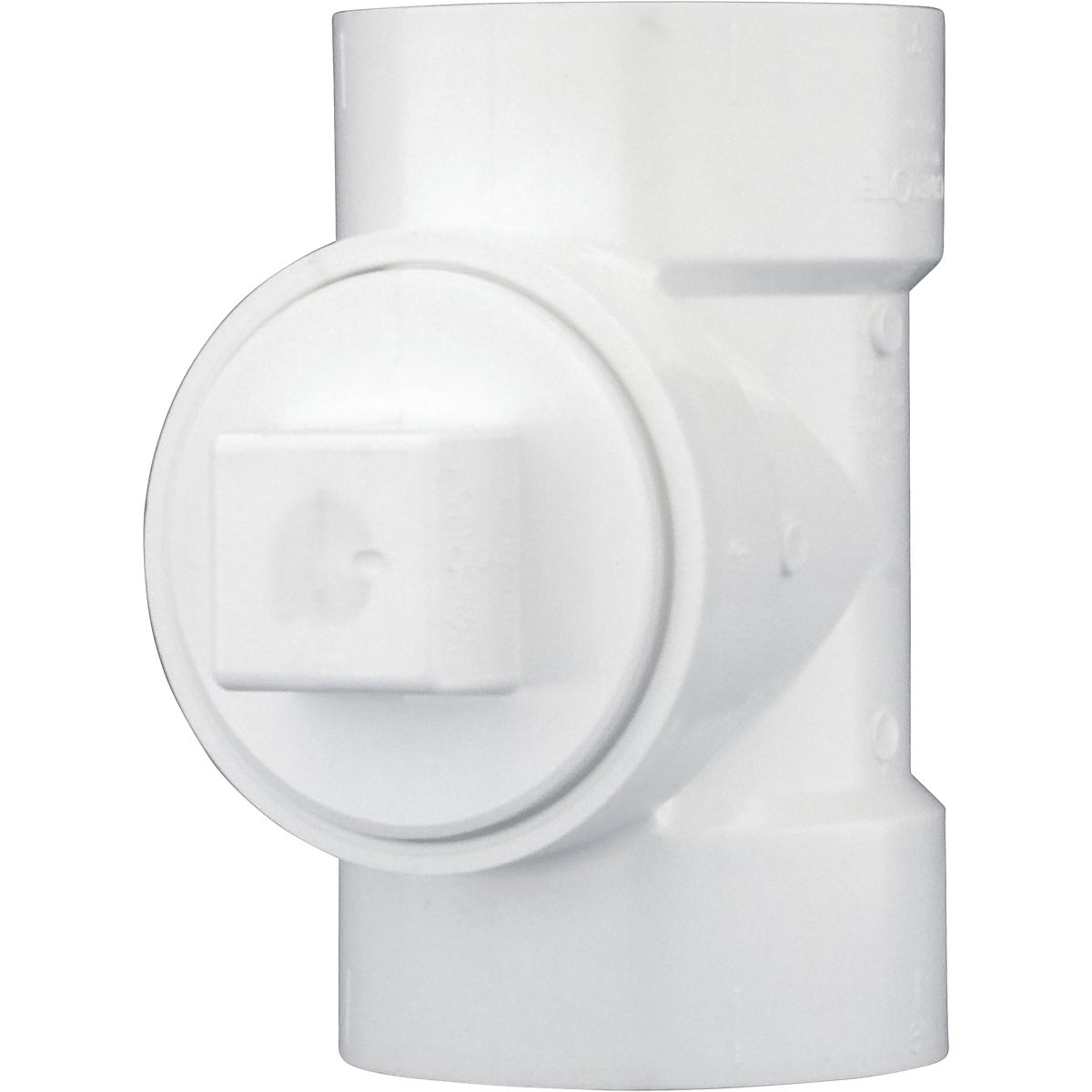"3"" TEST TEE W/ PLUG - 71330 by Genova Inc  Pvc Dwv"