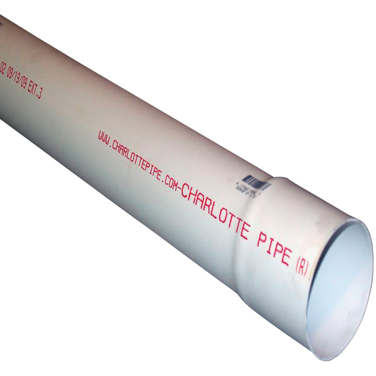 "4""X10'D&S SOLID PVC PIPE - 40040 by Genova Inc"