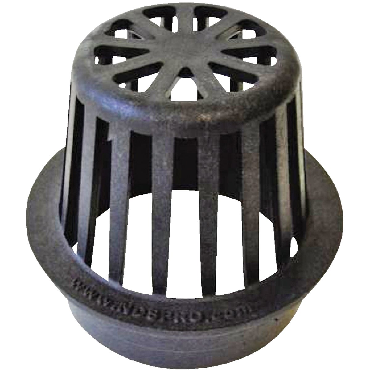 "4"" BLACK ATRIUM GRATE - 78 by National Diversified"