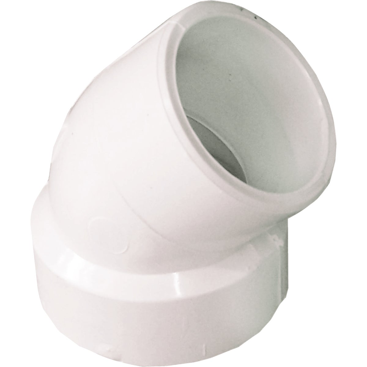 "1-1/2"" 45D DWV STR ELBOW - 72715 by Genova Inc  Pvc Dwv"