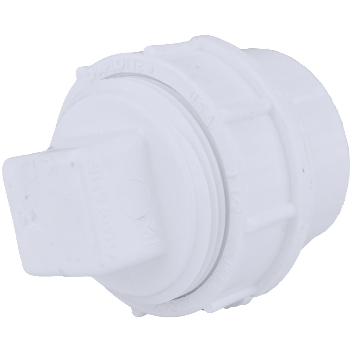 "1-1/2"" CLEANOUT W/PLUG - 71615 by Genova Inc  Pvc Dwv"