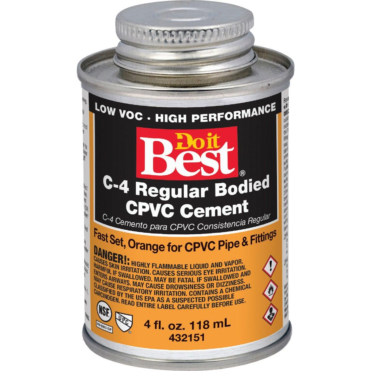 1/4 PINT CPVC CEMENT - 018706 by Wm H Harvey Co