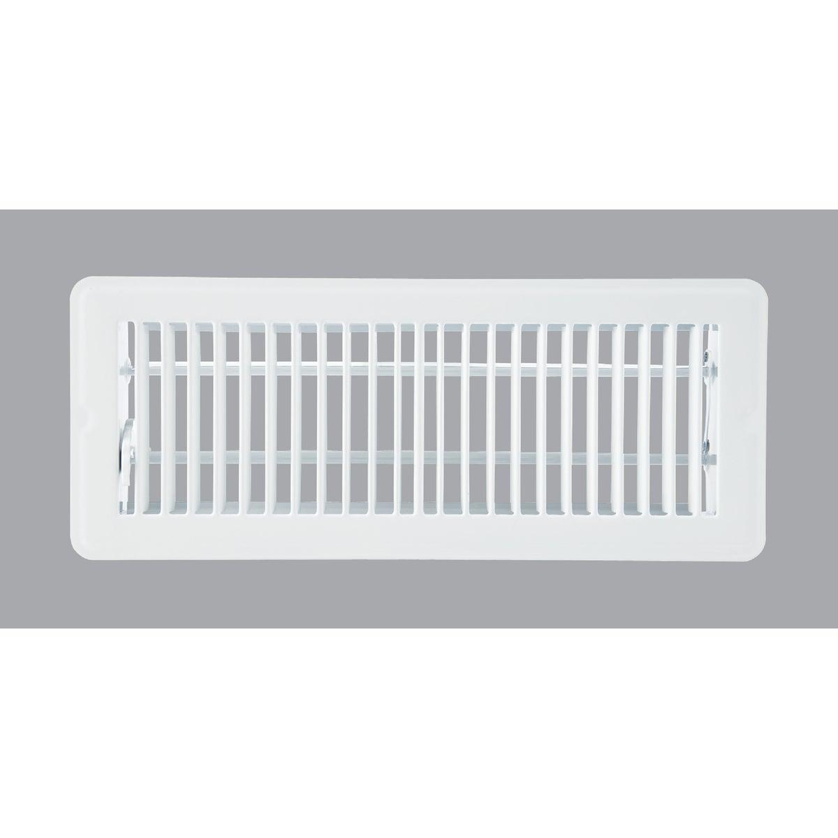 Home Impressions Steel Floor Register, 1FL0412WH-NH