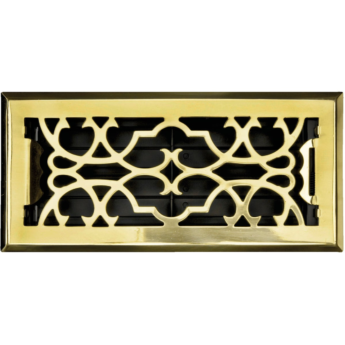 4X10 PBRASS FLR REGISTER - ASFRSBV410 by Greystone Home Prod