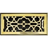 Accord Victorian Brass Floor Register, ASFRSBV410