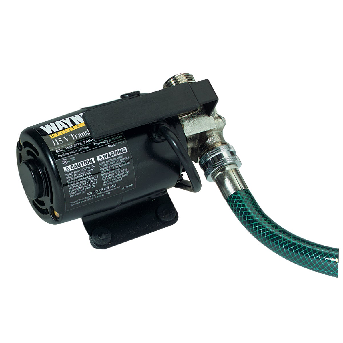 115V UTILITY PUMP & HOSE - PC2 by Wayne Water Systems