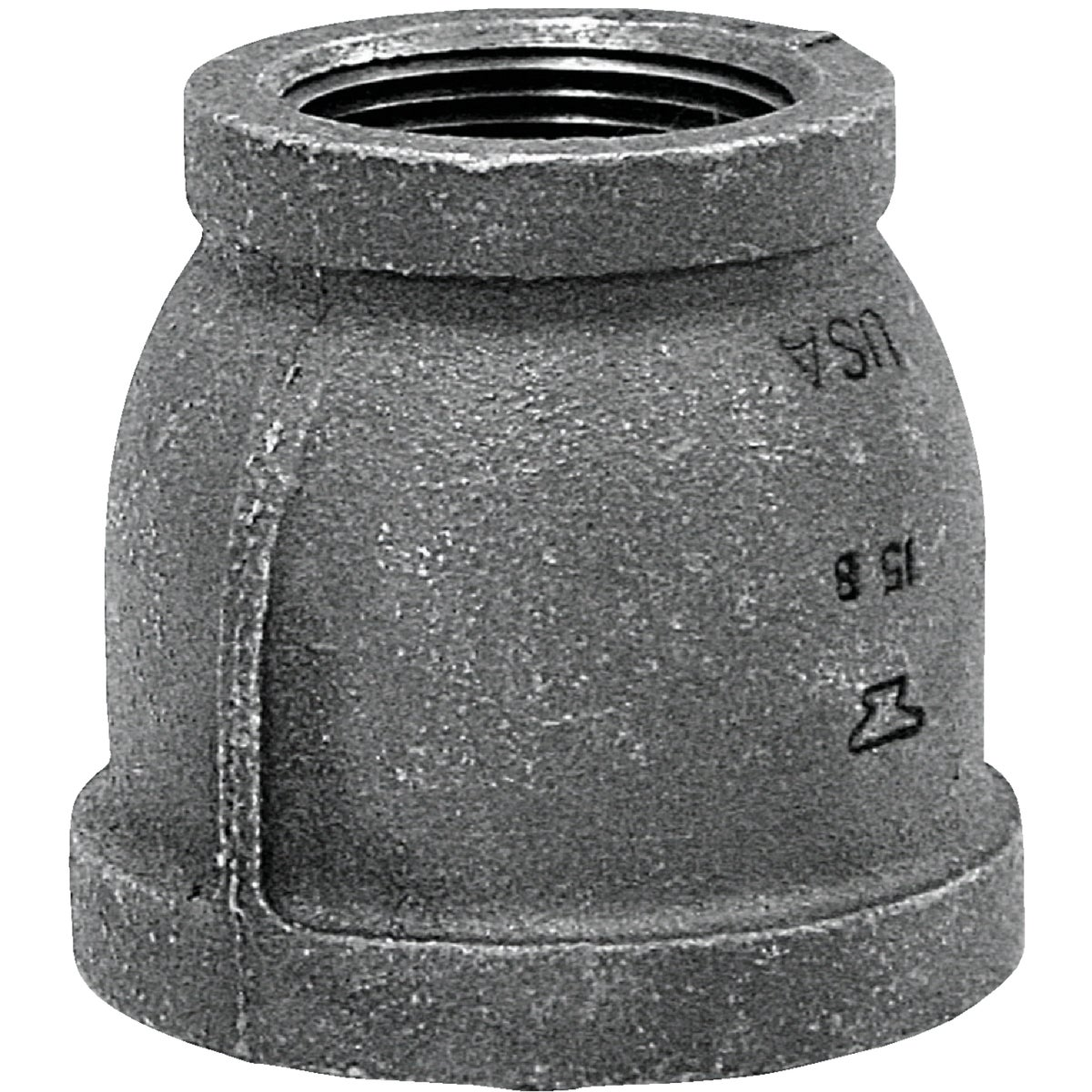 1-1/2X1-1/4 BLK COUPLING