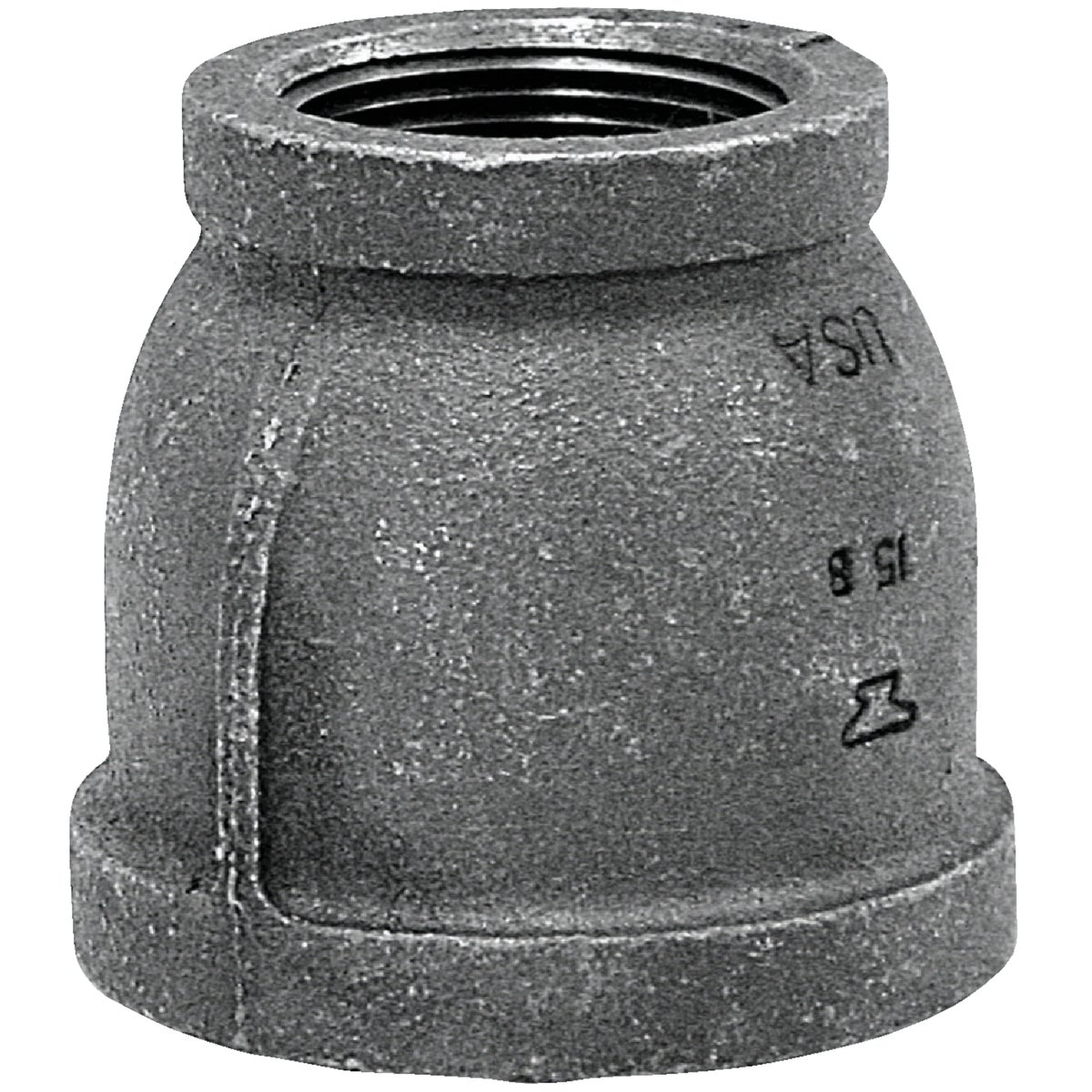 2X1-1/2 BLK COUPLING