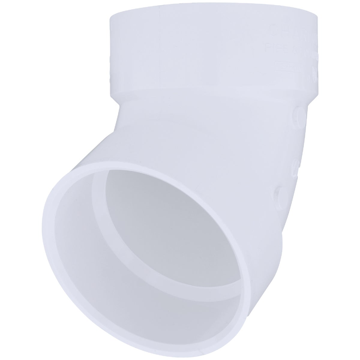 "4"" 60D PVC-DWV ELBOW - 70940 by Genova Inc  Pvc Dwv"