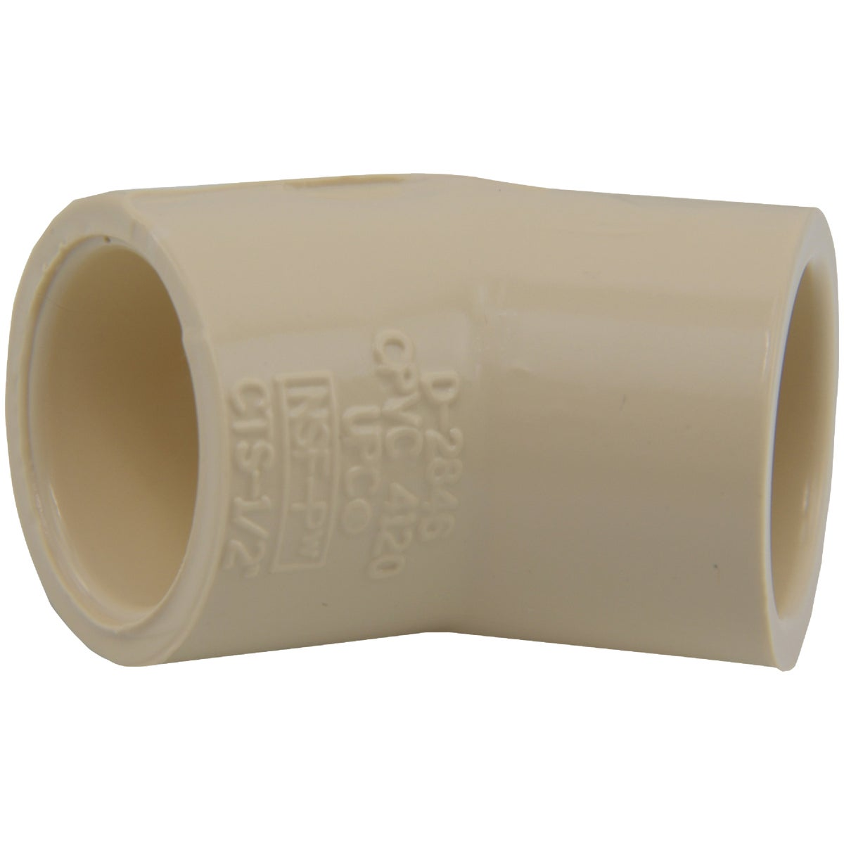 "1/2"" CPVC 45D ELBOW - 50605 by Genova Inc"
