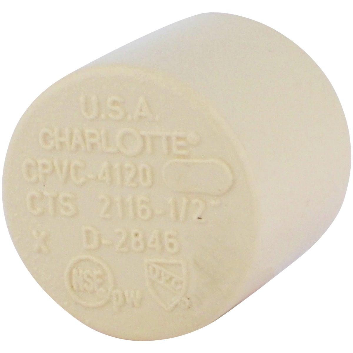 "1/2"" CPVC CAP - 50155 by Genova Inc"