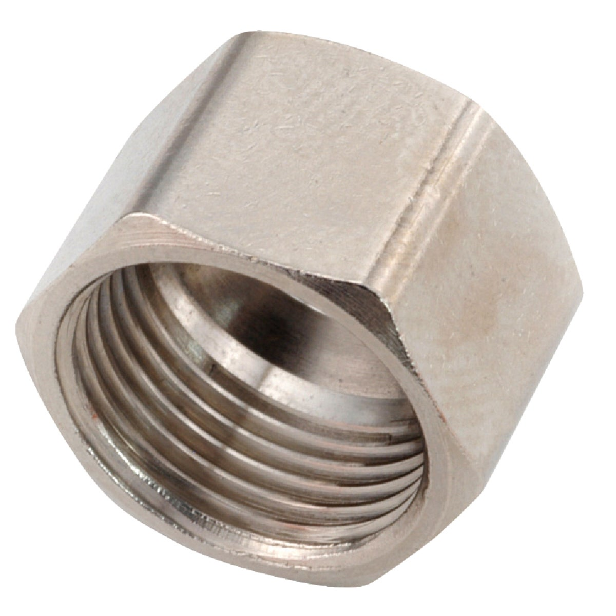 "3/8"" CHR COMPRESSION NUT - 30661-06 by Anderson Metals Corp"