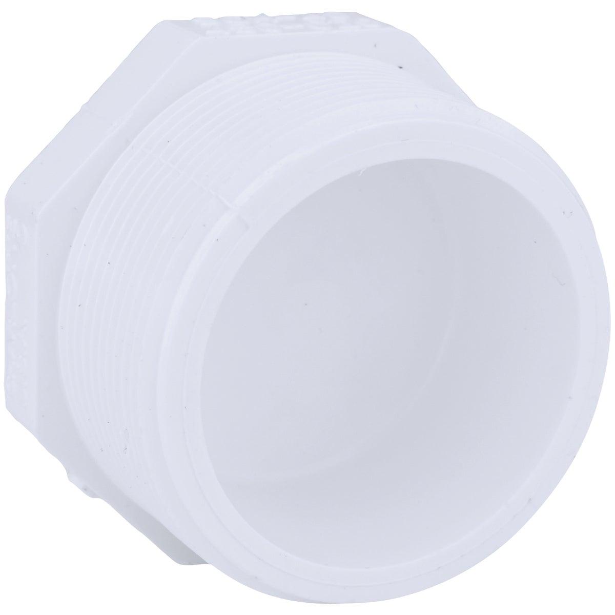"""2"""" PVC SCH40 MIP PLUG - 31820 by Genova Inc"""