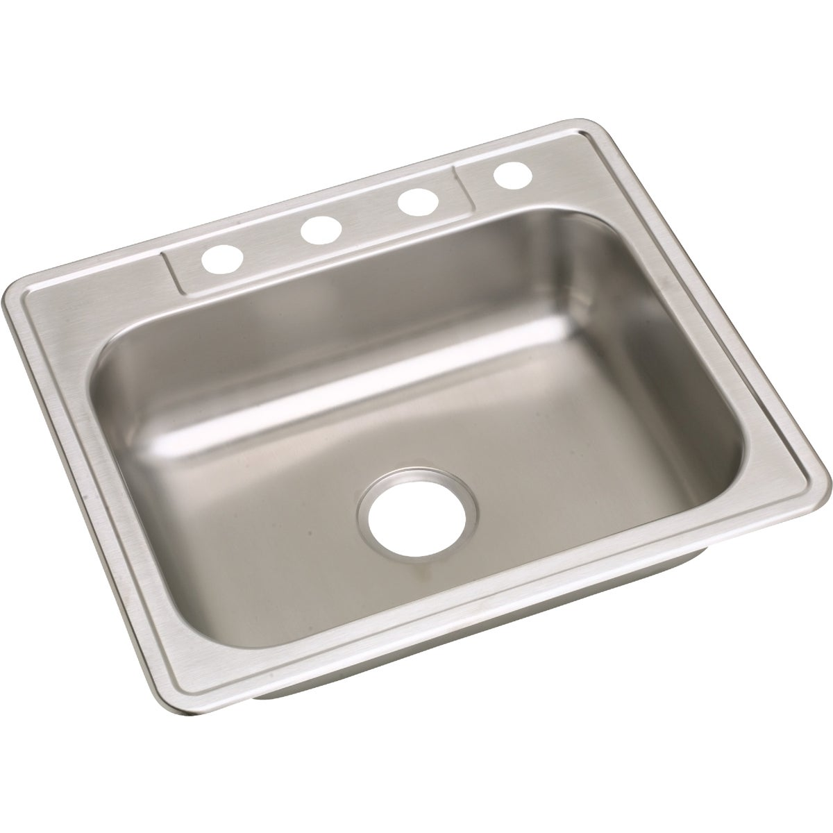 "6"" SS SINGLE-BOWL SINK"