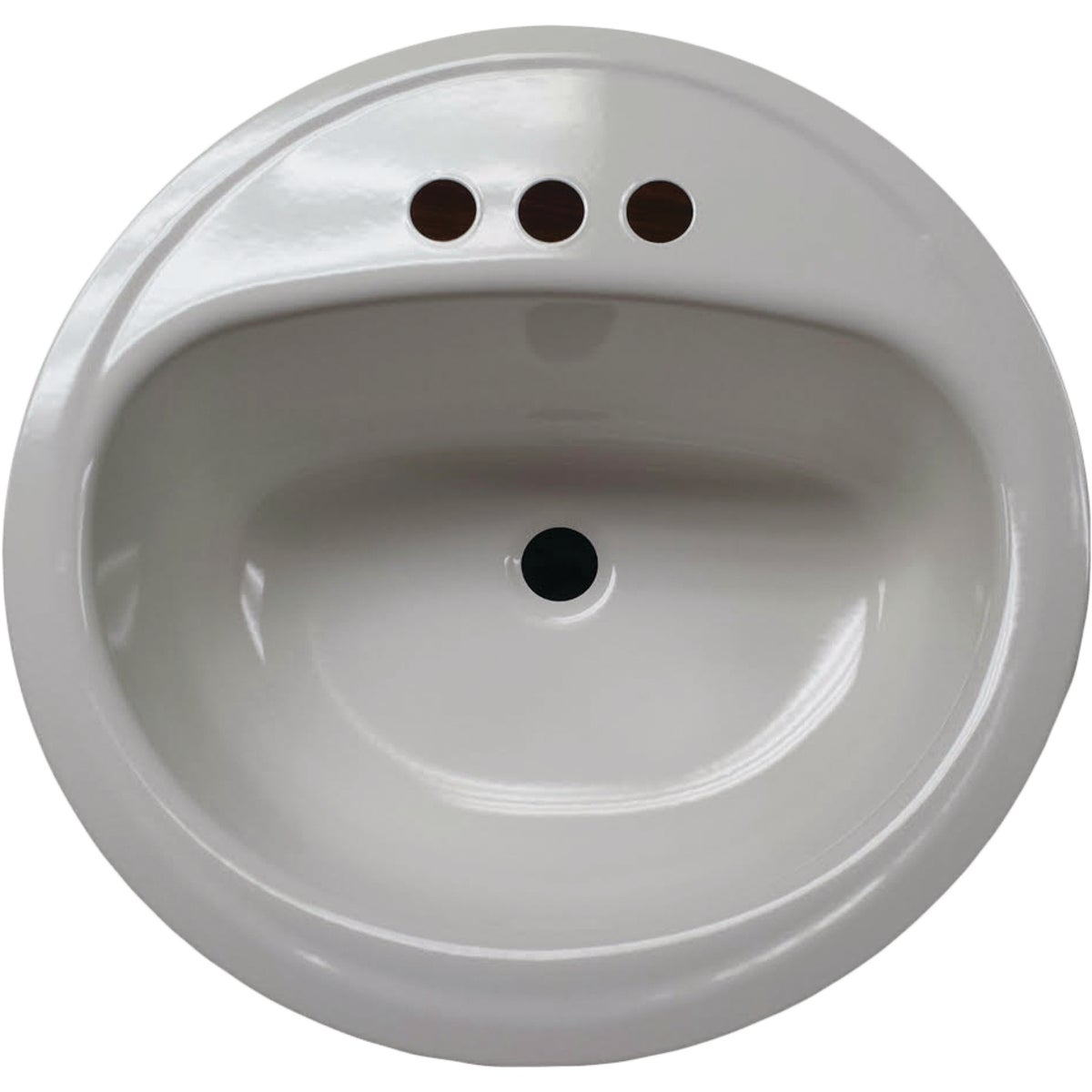 WHITE OVAL LAVATORY - 3004-130 by Briggs