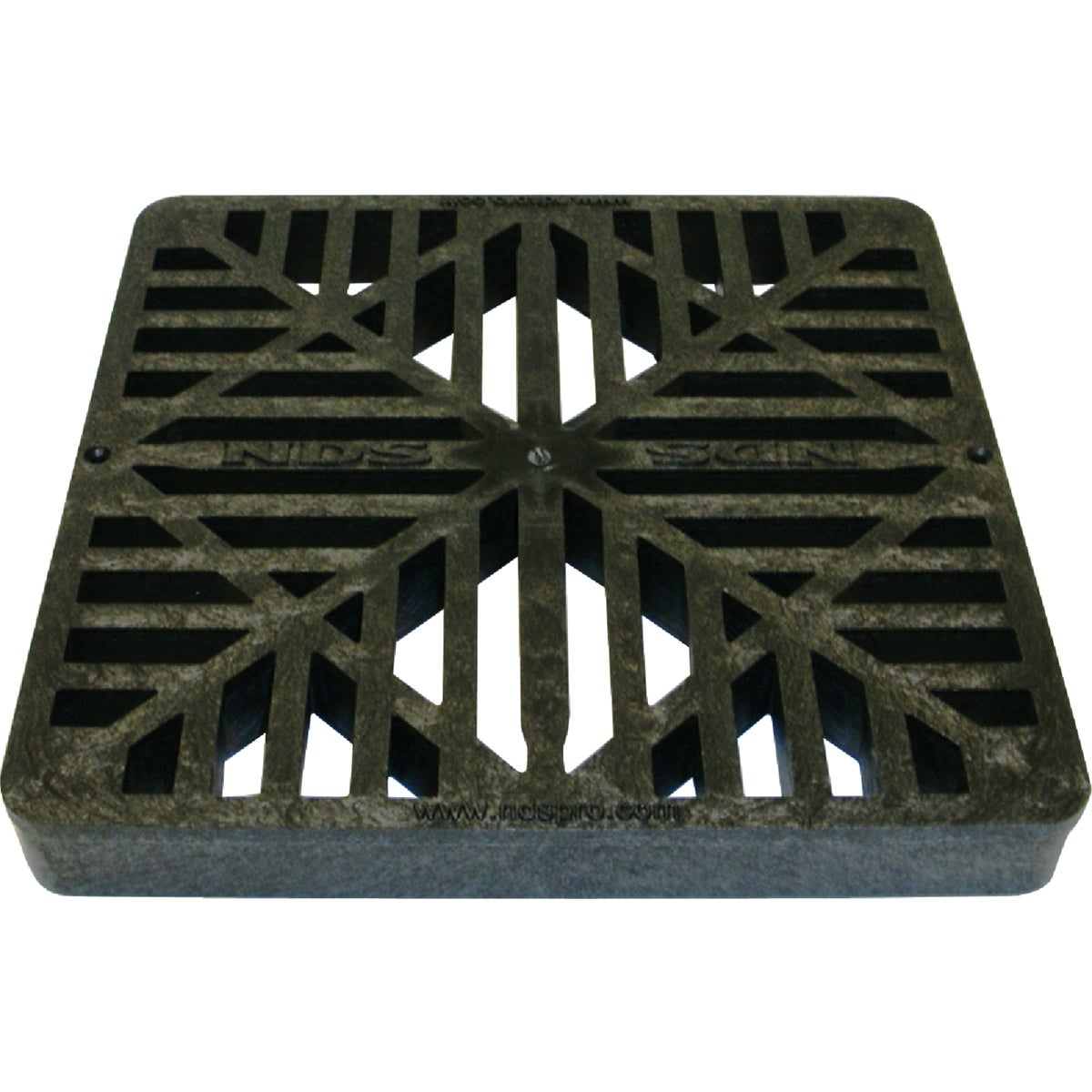 9X9 BLACK BASIN GRATE - 980 by National Diversified