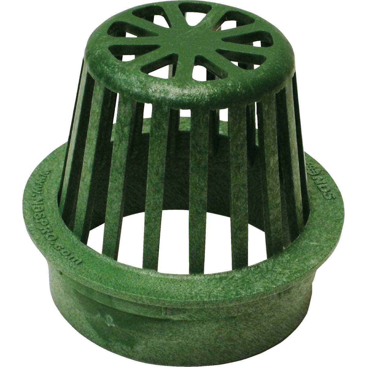 "4"" GREEN ATRIUM GRATE - 75 by National Diversified"