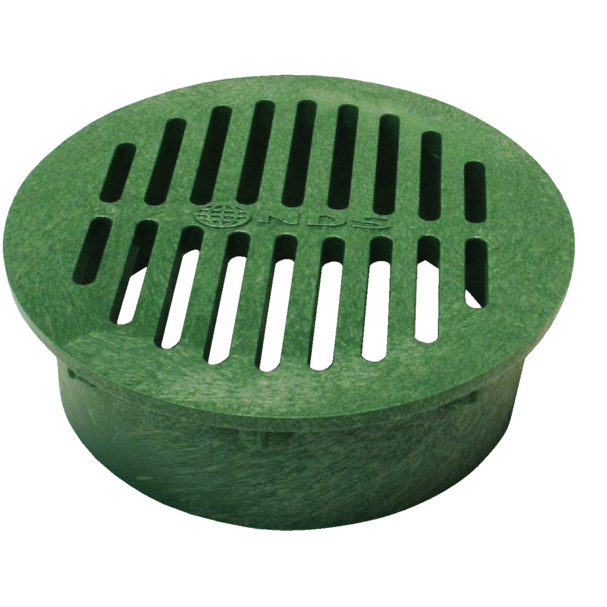 "6"" GREEN ROUND GRATE - 50 by National Diversified"