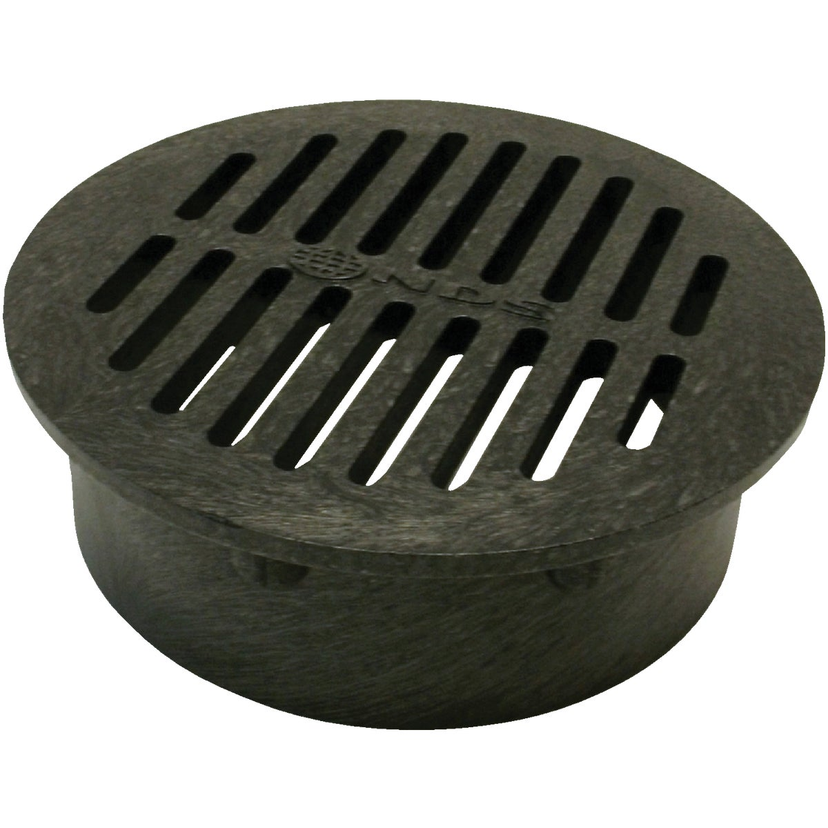 "6"" BLACK ROUND GRATE - 40 by National Diversified"