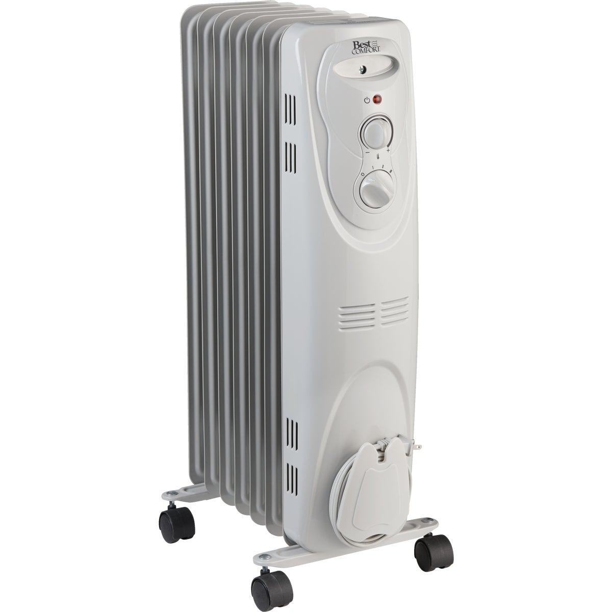 Best Comfort 1500-Watt 120-Volt Oil Filled Radiator Heater