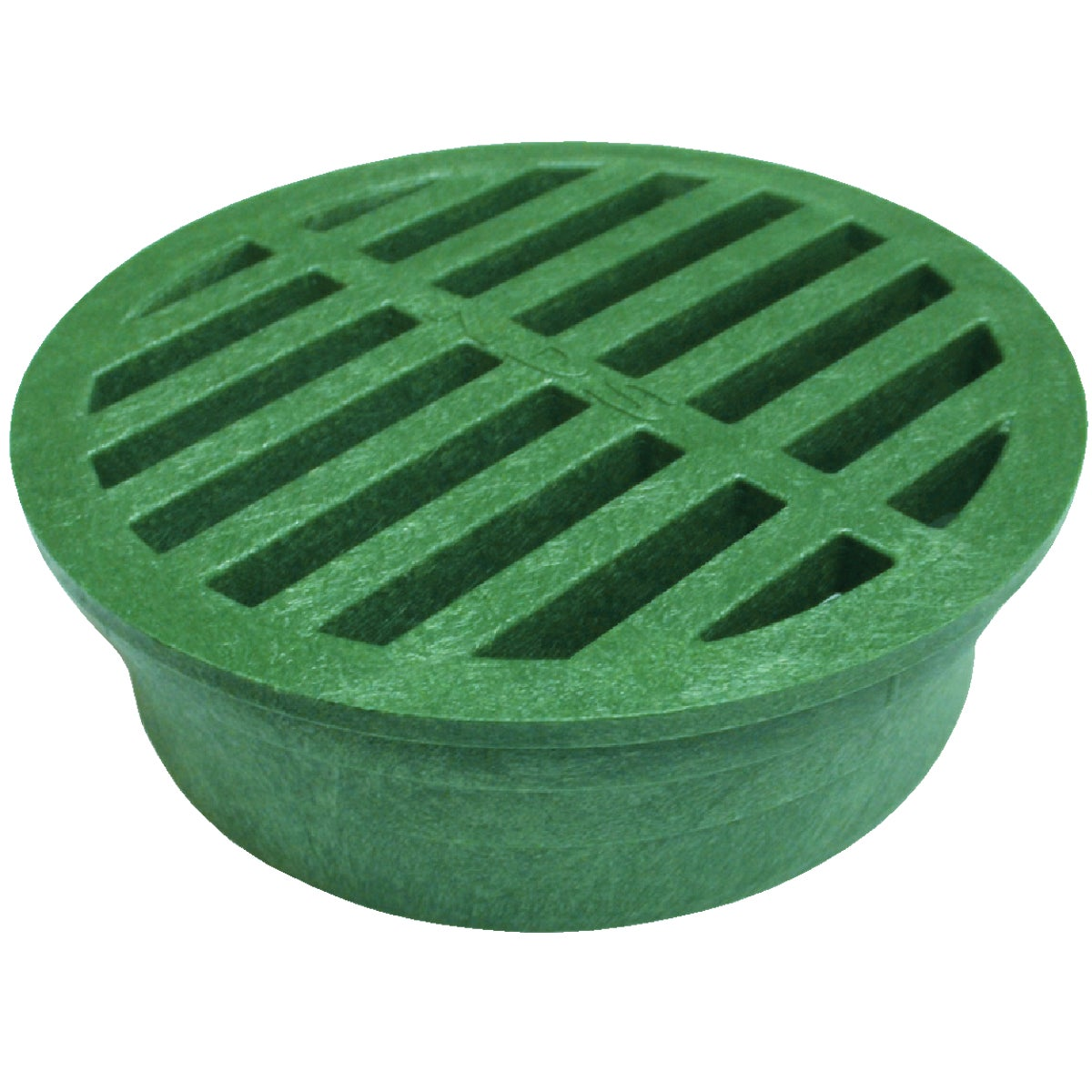"4"" GREEN ROUND GRATE - 13 by National Diversified"