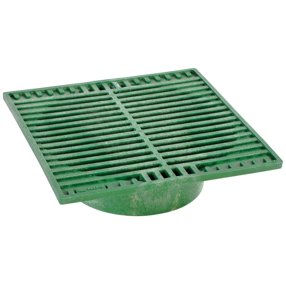 "9"" GREEN SQUARE GRATE - 950 by National Diversified"
