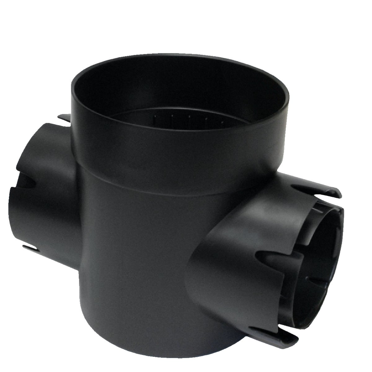 BLACK DOUBLE OUTLET - 201 by National Diversified