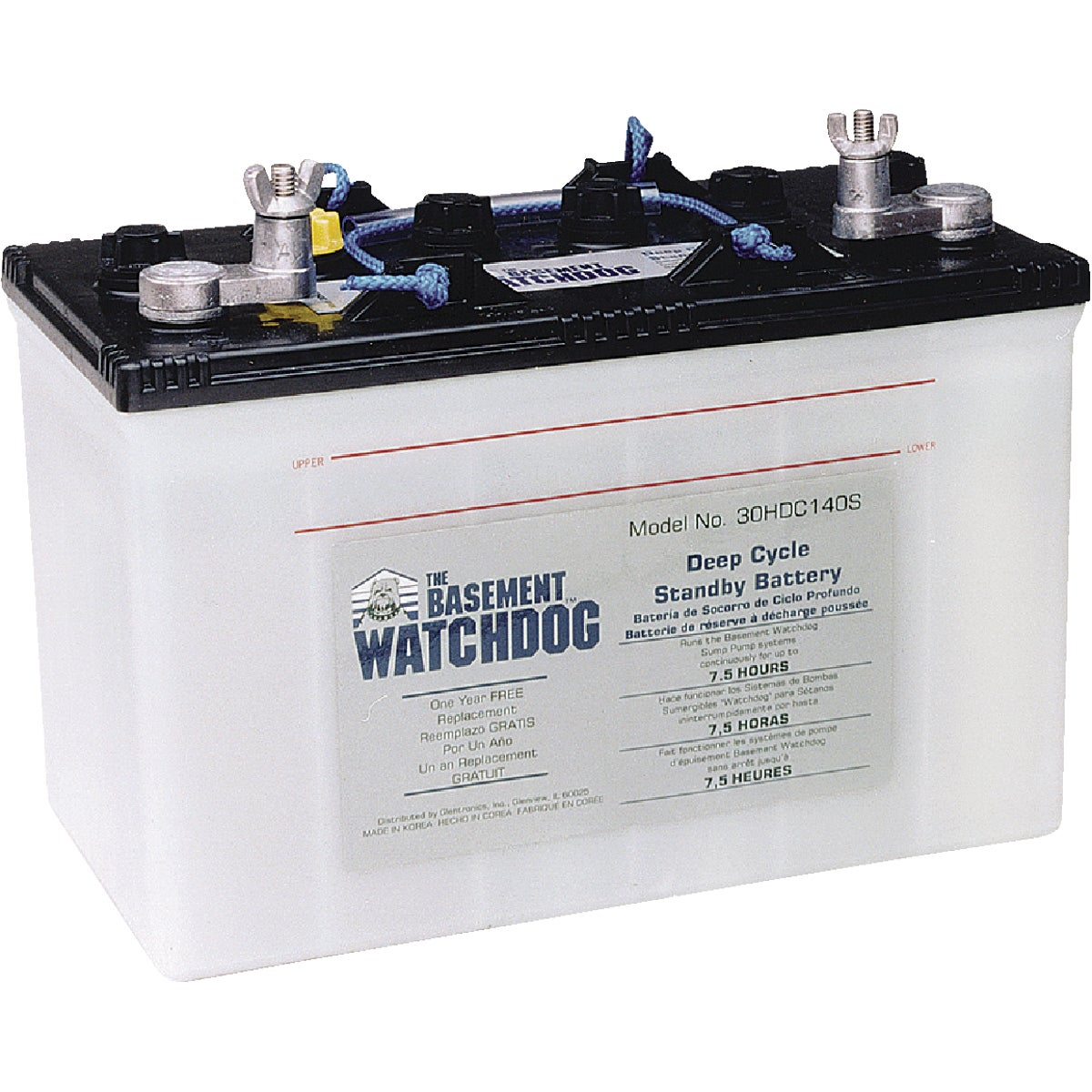 7.5 HOUR PUMP BATTERY - 30HDC140S by Glentronics Inc