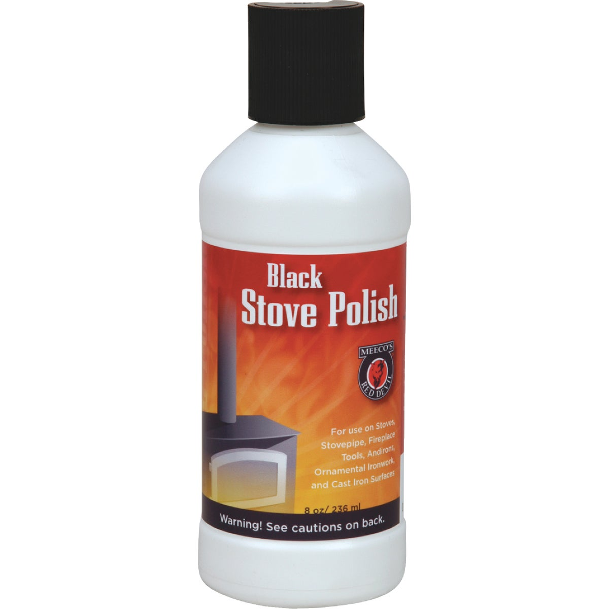 8OZ LIQ STOVE POLISH - 401 by Meeco Mfg