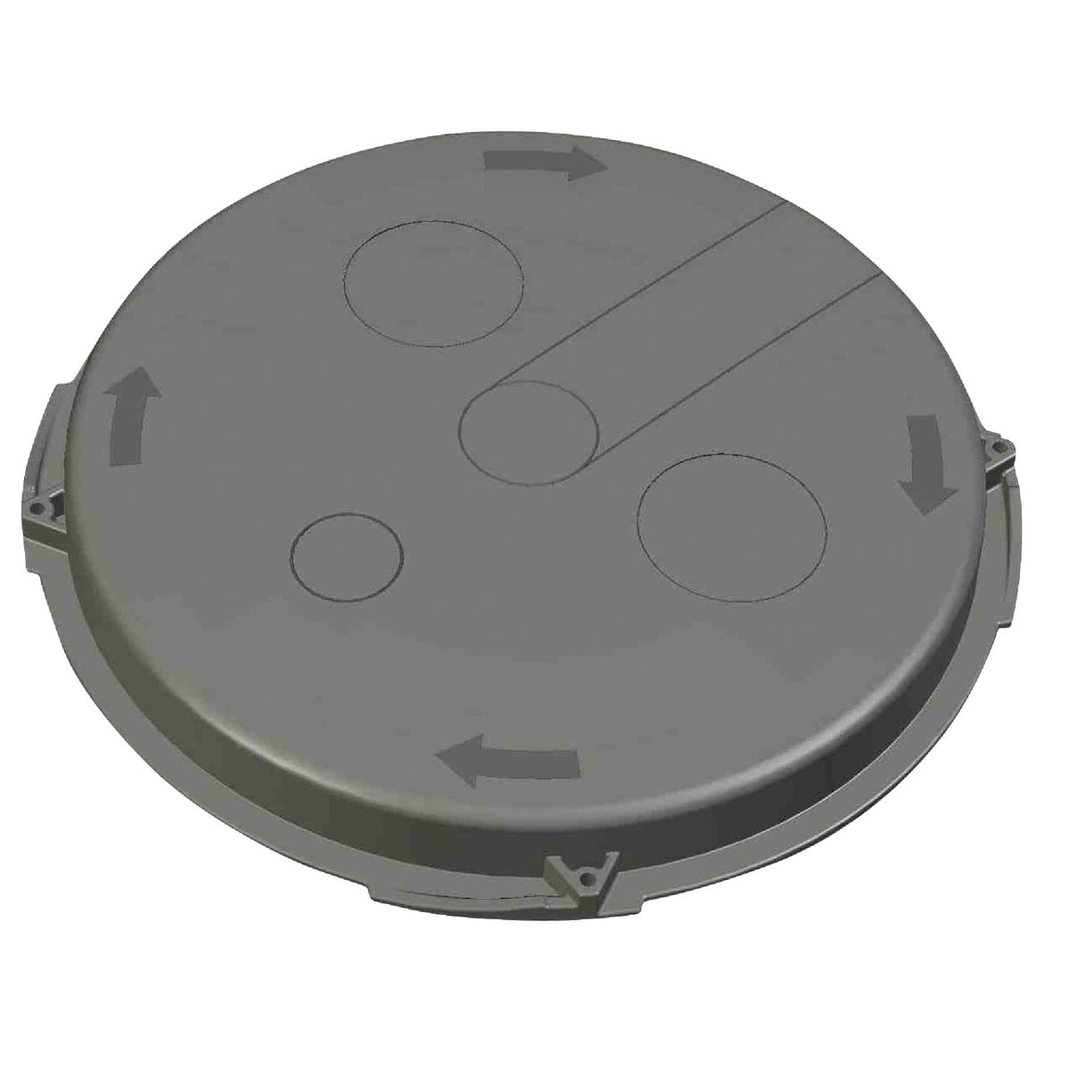 "19"" HVY DUTY SUMP LID - 1537ADL by Advanced Drainage Sy"