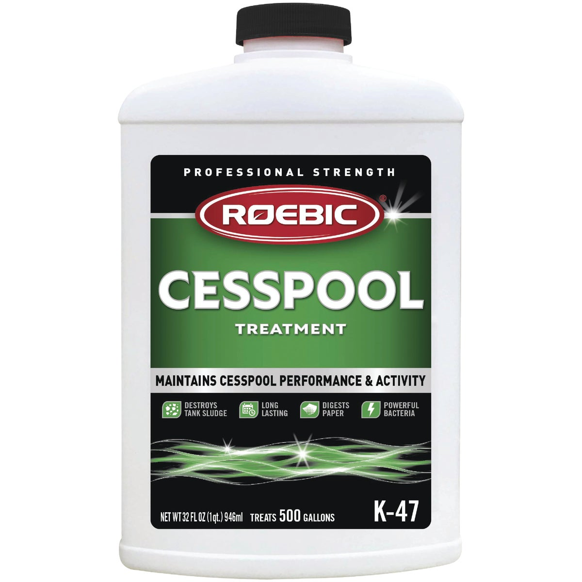 QUART CESSPOOL TREATMENT - K47-Q-12 by Roebic Laboratories