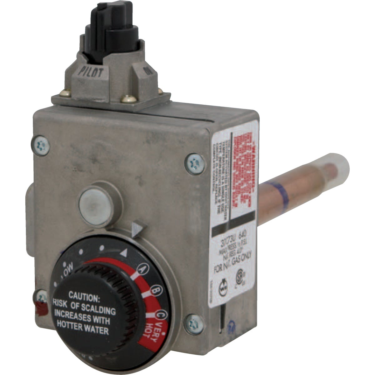 NATURAL GAS THERMOSTAT - 9000246 by Reliance State Ind