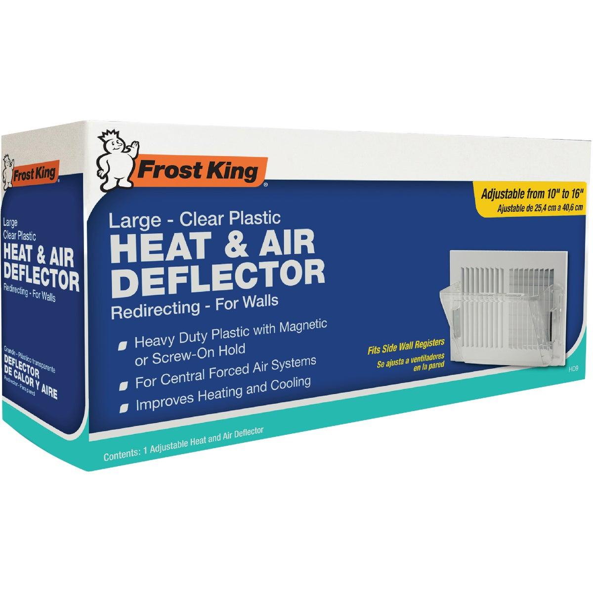 Thermwell Sidewall Air Deflector, HD9