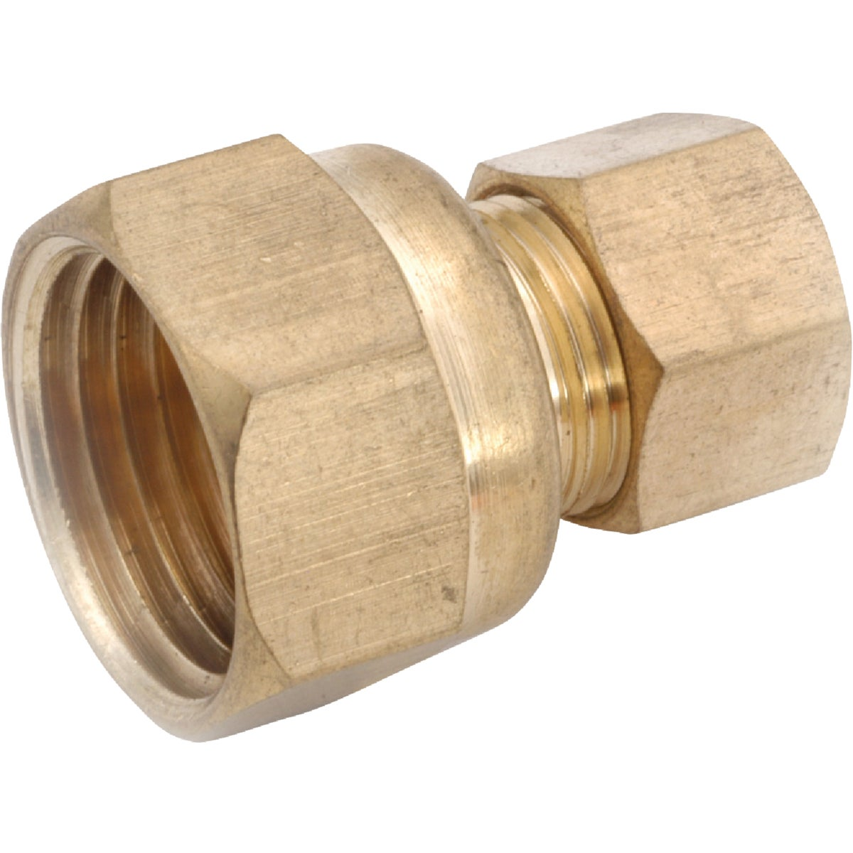 3/8X1/2 FEMALE COUPLING - 750066-0608 by Anderson Metals Corp